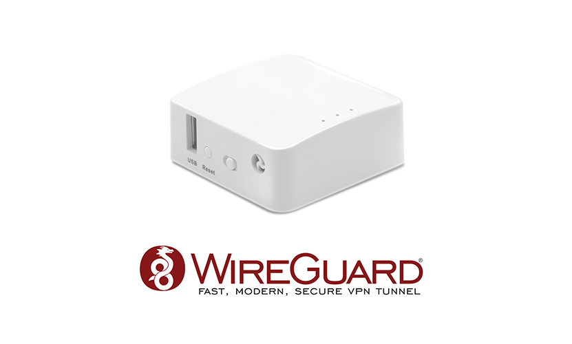 WireGuard performance on the low-end GL.iNet GL-AR150 mini router